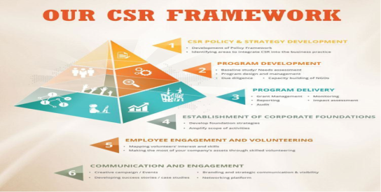 csr framework graphic